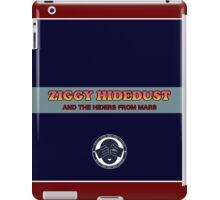 Ziggy Hidedust & The Hiders From Mars iPad Case/Skin