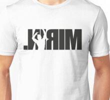 Mirin. (version 1 black reflected) Unisex T-Shirt