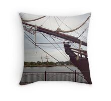 Bounty II - Departure Day Throw Pillow