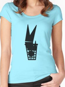 Universal Unbranding - The Ultimate Green Solution Women's Fitted Scoop T-Shirt