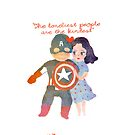 The loneliest people are the kindest by daniloschirru