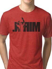 Mirin. (version 2 black reflected) Tri-blend T-Shirt