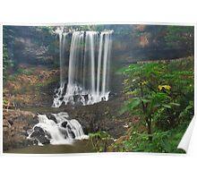 Dambri waterfall Poster