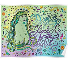 Cosmic beauty Poster