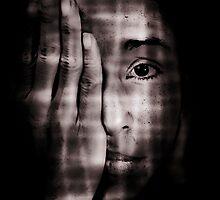 one eye close  by Jan  Postel