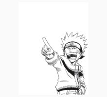 Naruto Pointing and Laughing by LeoSteelfire