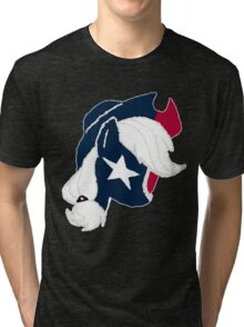 Applejack - Houston Texans Tri-blend T-Shirt
