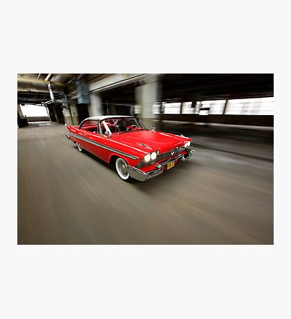 """Christine"", the Plymouth Fury Photographic Print"