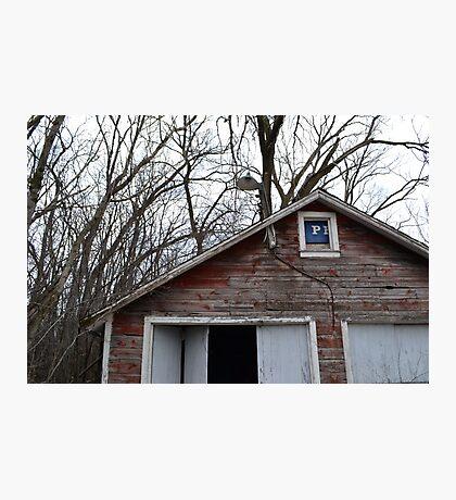 Forgotten Garage Photographic Print