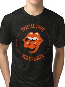 Universal Unbranding - North Korean Tour Tri-blend T-Shirt