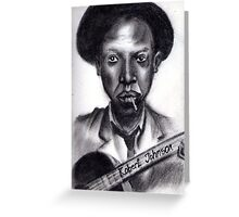 Robert Johnson Greeting Card