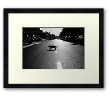 no rules Framed Print