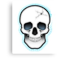 Retro Skull Canvas Print