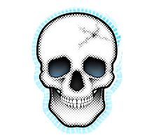Retro Skull Photographic Print