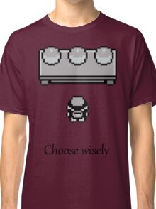Pokemon - The choice Classic T-Shirt