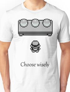 Pokemon - The choice Unisex T-Shirt