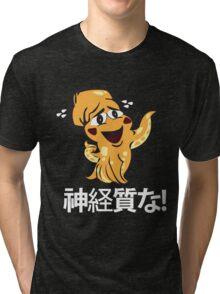Nervous Inky Tri-blend T-Shirt