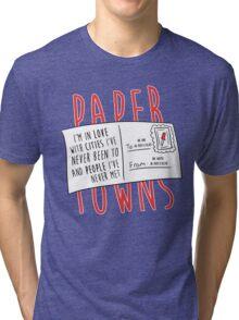 Paper Towns Love Tri-blend T-Shirt