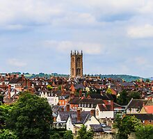 Ludlow, Shropshire On A Hot Summer Day by Danny Thomas