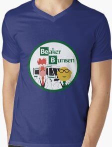 Breaking Muppets Mens V-Neck T-Shirt