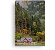Bavarian Hillside Canvas Print