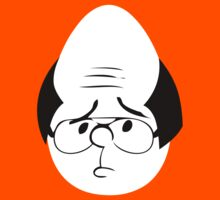 Karl Pilkington Twitter Egg With Sideburns by Mac17