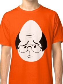 Karl Pilkington Twitter Egg With Sideburns Classic T-Shirt