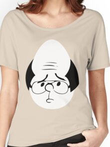 Karl Pilkington Twitter Egg With Sideburns Women's Relaxed Fit T-Shirt