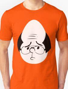 Karl Pilkington Twitter Egg With Sideburns Unisex T-Shirt
