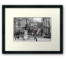 Red Bus. Framed Print