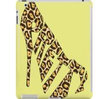 Pretty Wild Pumps iPad Case/Skin
