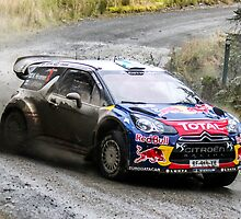 Mikko Hirvonen 2 WRC Rally GB by Danny Thomas