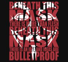Ideas are bulletproof v.2 by Technohippy
