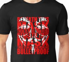 Ideas are bulletproof v.2 Unisex T-Shirt