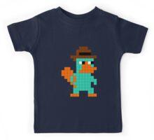 Pixel Perry the Platypus Kids Tee