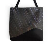 The stars wheel over Mt. Doom Tote Bag
