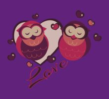 Lovely Owls by eppiepeppercorn