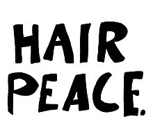 Hair Peace Photographic Print