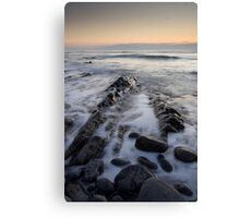 Sandymouth Sunset Canvas Print