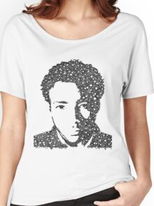 Childish Gambino Portrait Women's Relaxed Fit T-Shirt