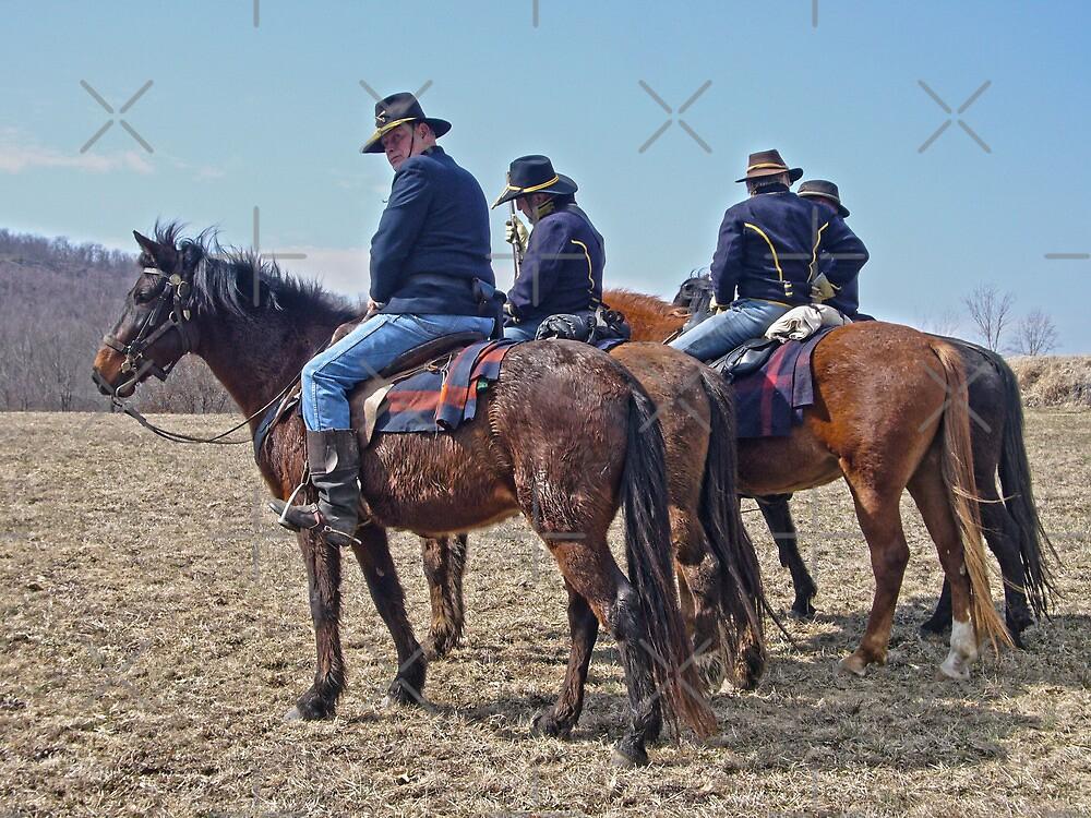 Turner Brigade Cavalry  by Susan S. Kline
