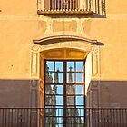 Spanish Windows with Reflection by Sue Knowles