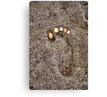 Stone Nails Canvas Print
