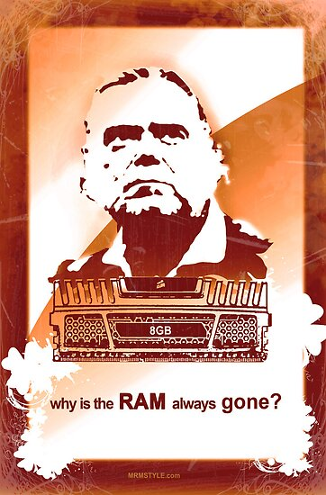 why is the RAM always gone? by MRMSTYLE