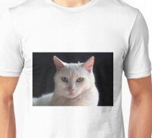 Turkish Angora Cat With Odd Eyes Unisex T-Shirt