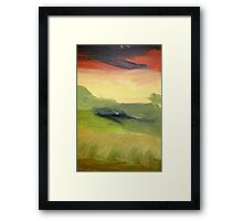 Fields of Grain Framed Print
