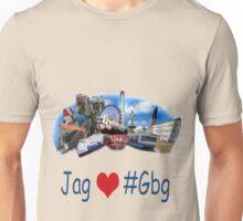 I love Gothenburg - Jag älskar Göteborg - Gbg Tshirt Unisex T-Shirt