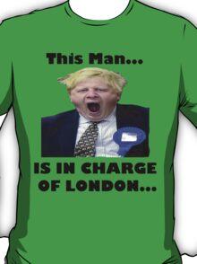 BORIS JOHNSON YAWN T-Shirt