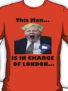 BORIS JOHNSON YAWN T-Shirt