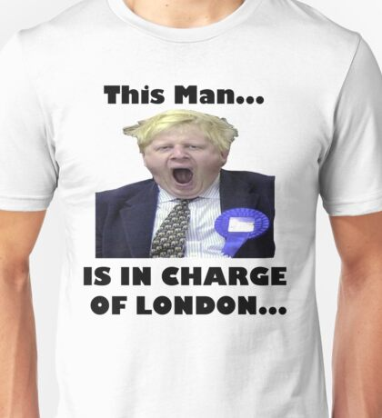 BORIS JOHNSON YAWN Unisex T-Shirt
